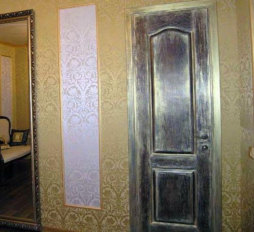 Как своими руками состарить дверь 949