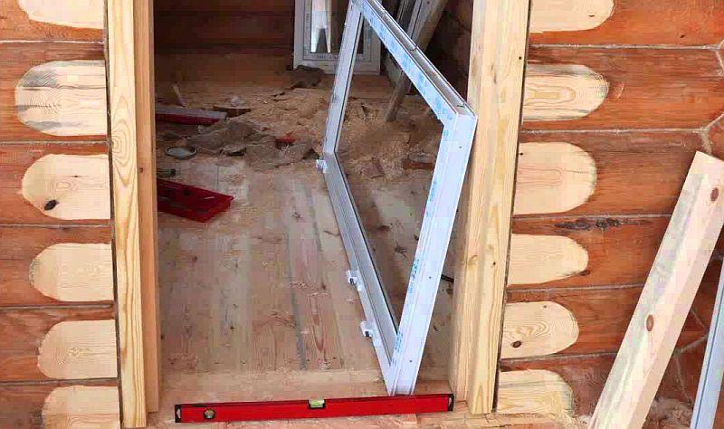 Как самому сделать окосячку для двери в деревянном доме