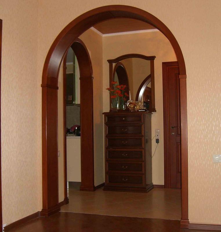 Варианты арок дверей