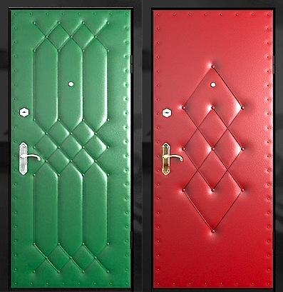 Как красиво обшить дверь